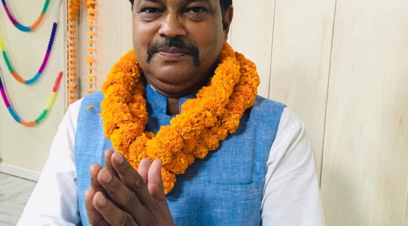 One quintal flour and 25 kg sugar given by BJP leader